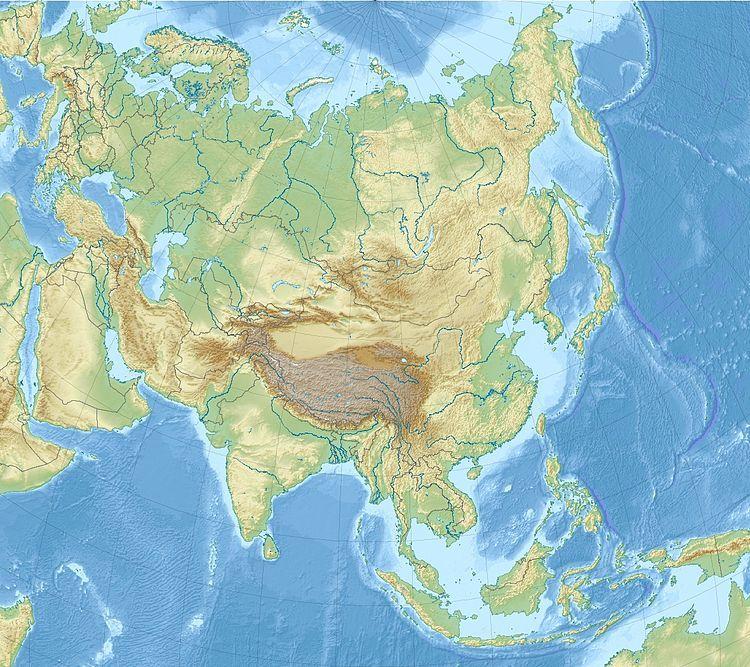 亚洲主要地理