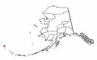 Location of 阿图岛