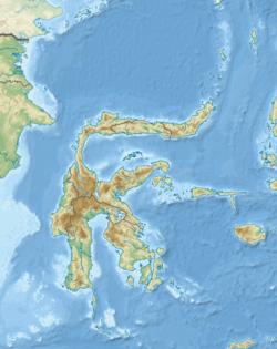 望加锡海峡在苏拉威西的位置