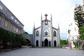 2016年Luodong Cathedral of the Assumption of the Blessed Virgin Mary01.jpg