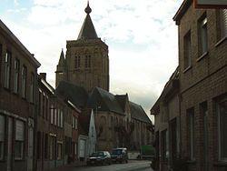 Saint Audomar Church in Alveringem