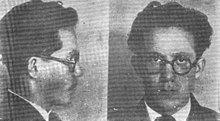 two black and white mugshots