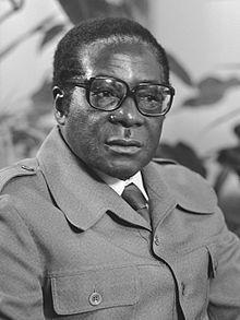 Photograph of Robert Mugabe