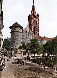 Königsberg Castle before World War I