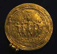 Römische Goldmünze Gaudium Romanorum.jpg