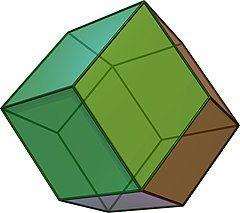 菱形十二面体