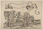 Cart with Horn Musicians
