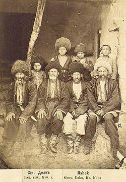Ceklilər Cek kəndində, 1880 (kişilər)-Yermakov Dmitriy Ivanovich.jpg