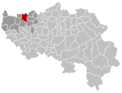Waremme Liège Belgium Map.png