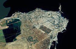 Monastir from space