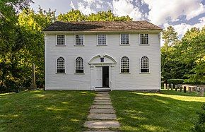 Old Narragansett Church in Wickford