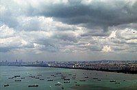 新加坡港的航运