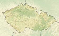 Český Krumlov is located in Czech Republic