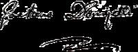 Donizetti's signature