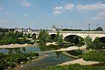 France Orleans Pont George V Cathedrale 01.JPG