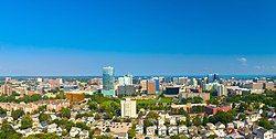 Stamford Connecticut Skyline Aug 2017.jpg