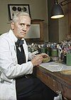 A man in his laboratory