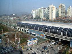京元线位于东豆川境内的纸杏站