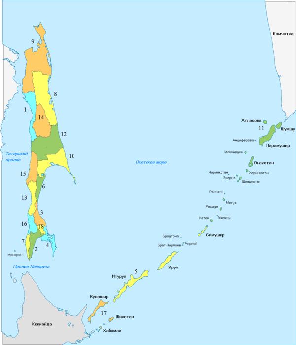 Sakhalin oblast Regions.png
