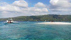 苏米龙岛的沙滩