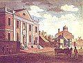 美国启蒙公共图书馆的代表:由本杰明·富兰克林主导非营利的费城图书馆公司(英语:Library Company of Philadelphia)[52]