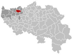 Remicourt Liège Belgium Map.png
