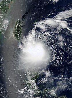 热带风暴潭美