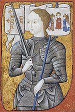 Painting, ca. 1485. An artist's interpretation, since the only known direct portrait has not survived. (Centre Historique des Archives Nationales, Paris, AE II 2490)