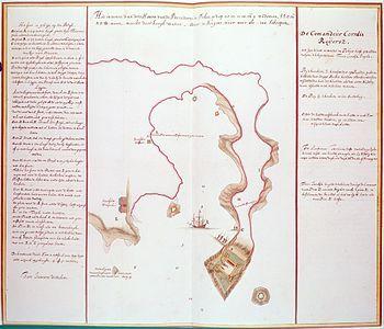 Map of Dutch Fortress on Penghu, c. 1623.jpg