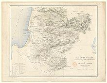 A detailed map of Galilee from the 19th century