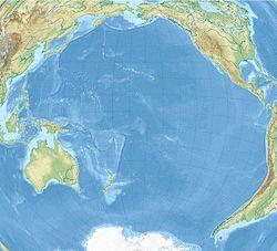复活节岛在太平洋的位置