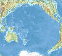 Clipperton is located in Pacific Ocean