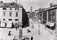 Old photo of the city