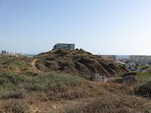 High mound of Tel Michal