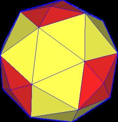 四角化扭棱立方体