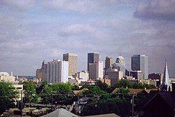 俄克拉荷马城的天际线