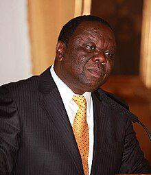 Morgan Tsvangirai Oslo 2009 A.jpg
