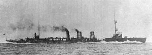 IJN Tenryu in 1919 under trials.jpg
