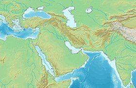 突厥沙希王朝在西亚的位置
