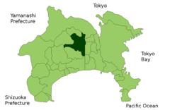 厚木市位置图