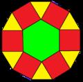 Hexagonal cupola flat.png