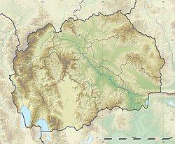 Skopje is located in North Macedonia