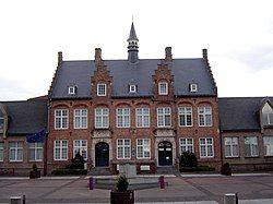 Zonnebeke town hall