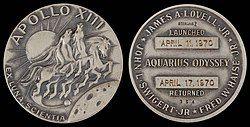 Apollo 13 Flown Silver Robbins Medallion (SN-354).jpg