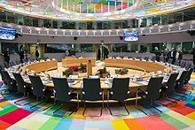 Europa building session room