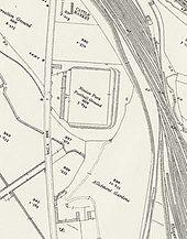 An Ordnance Survey map