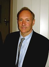 Photograph of Tim Berners-Lee in April 2009