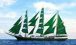 三桅帆船亚历山大·冯·洪堡号