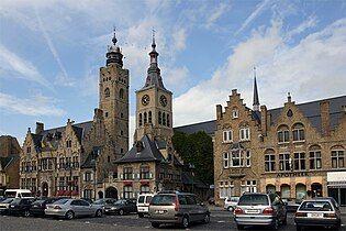 Town Hall and St Nicholas Church