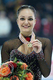 European Championships 2011 Sarah MEIER – Gold Medal.jpg